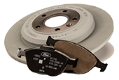 Coupon for MOTORCRAFT® COMPLETE BRAKE SERVICE $179.95 OR LESS*