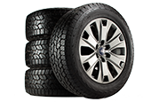BUY FOUR SELECT TIRES, GET A $70 REBATE BY MAIL.*