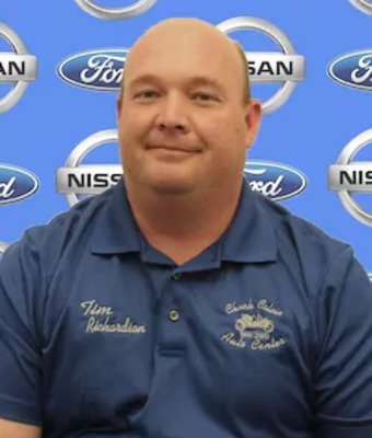 Sales Consultant Tim Richardson in Sales at Chuck Colvin Ford