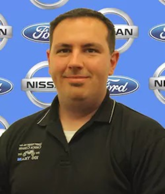 Fleet Manager Jacob Halsey in Management at Chuck Colvin Ford