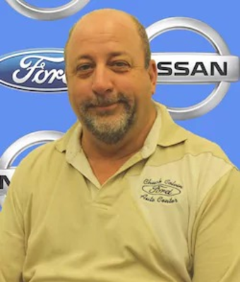 General Fleet Manager Brian Thomas in Management at Chuck Colvin Ford