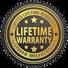 lifetime warranty badge