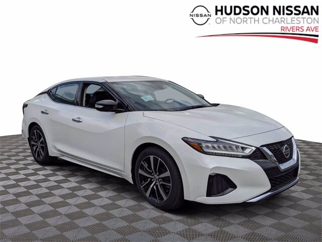 Lease this 2021, White, Nissan, Maxima, SV