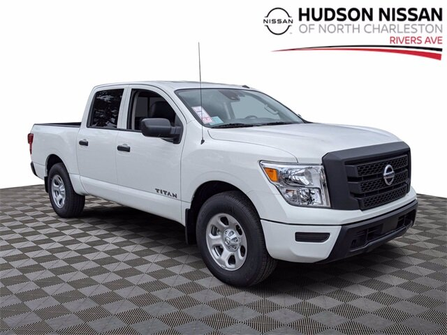 Lease this 2021, White, Nissan, Titan, S
