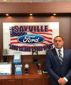 General Manager Nick Calandrino in Staff at Sayville Ford