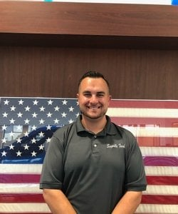 Sales Consultant John Devereux in Staff at Sayville Ford
