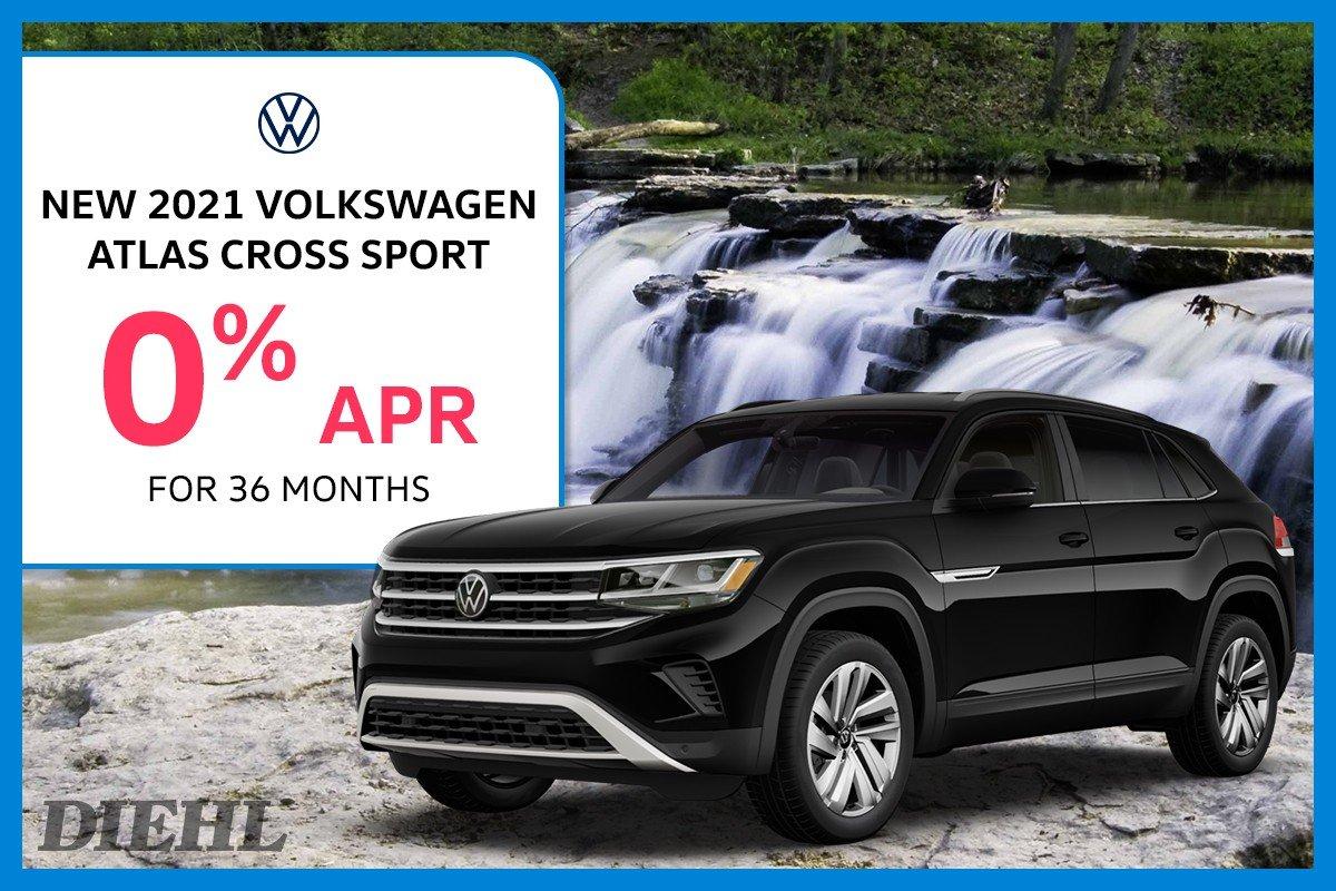 Special offer on 2021 Volkswagen Atlas Cross Sport 2021 ATLAS CROSS SPORT