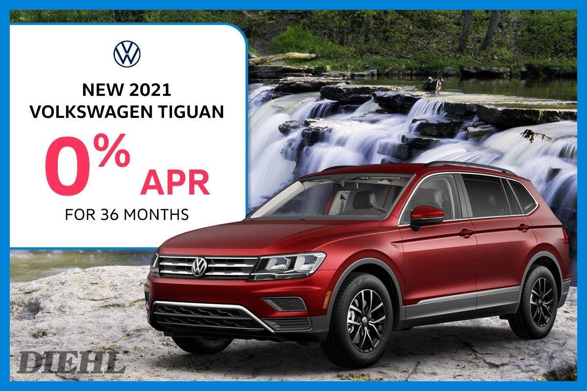 Special offer on 2021 Volkswagen Tiguan 2021 TIGUAN