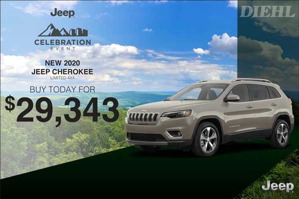 Special offer on 0   2020 CHEROKEE