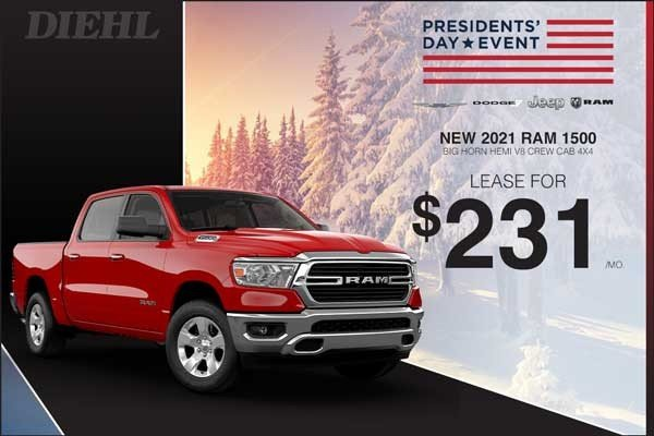 Special offer on 2021 Ram 1500 2021 RAM 1500