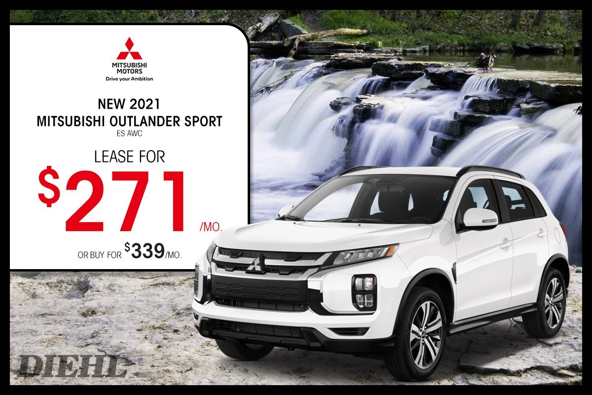 Special offer on 2021 Mitsubishi Outlander Sport 2021 OUTLANDER SPORT