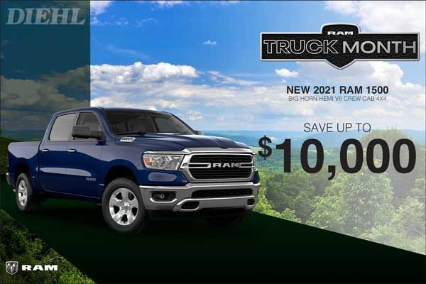Special offer on 0   2021 RAM 1500