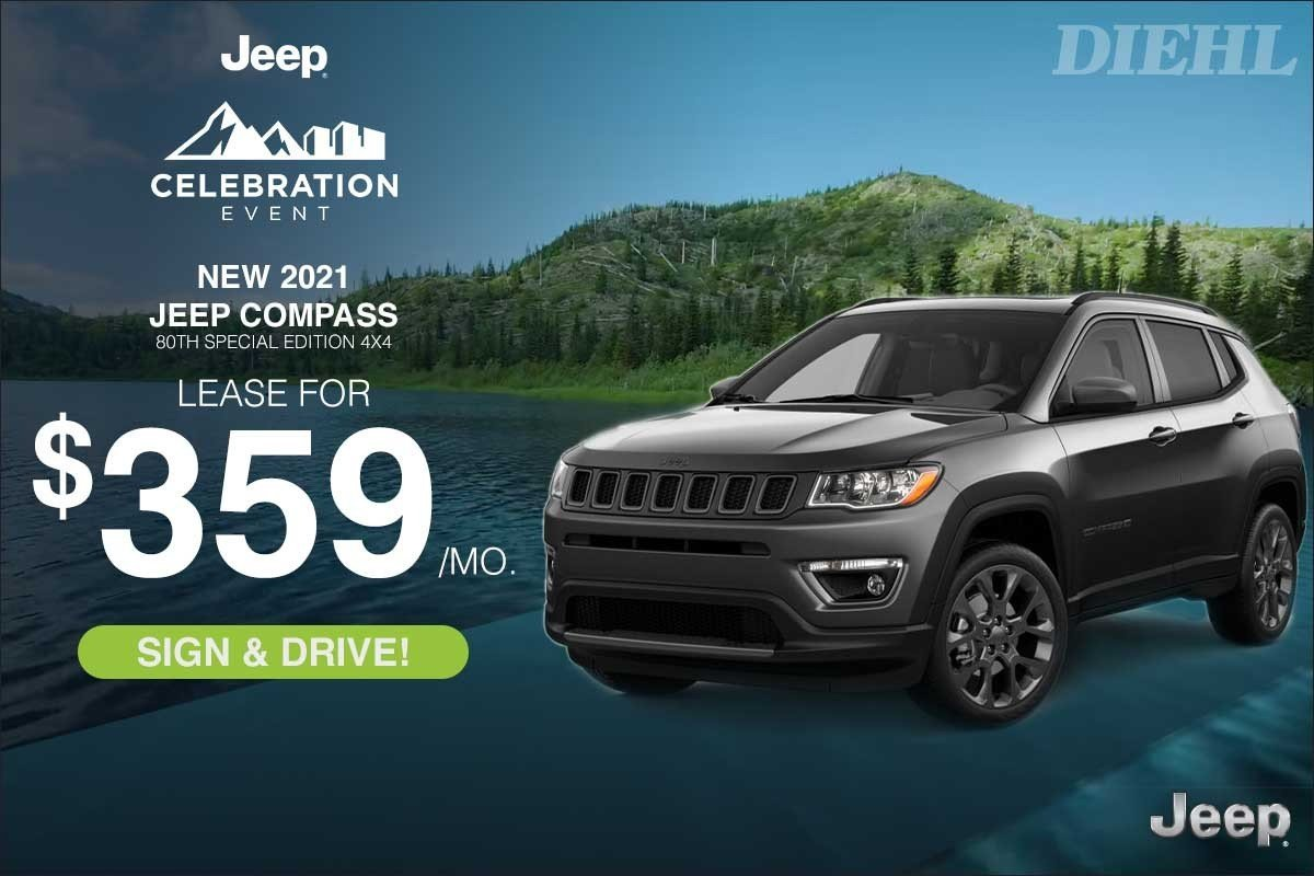 Special offer on 2021 Jeep Compass 2021 COMPASS