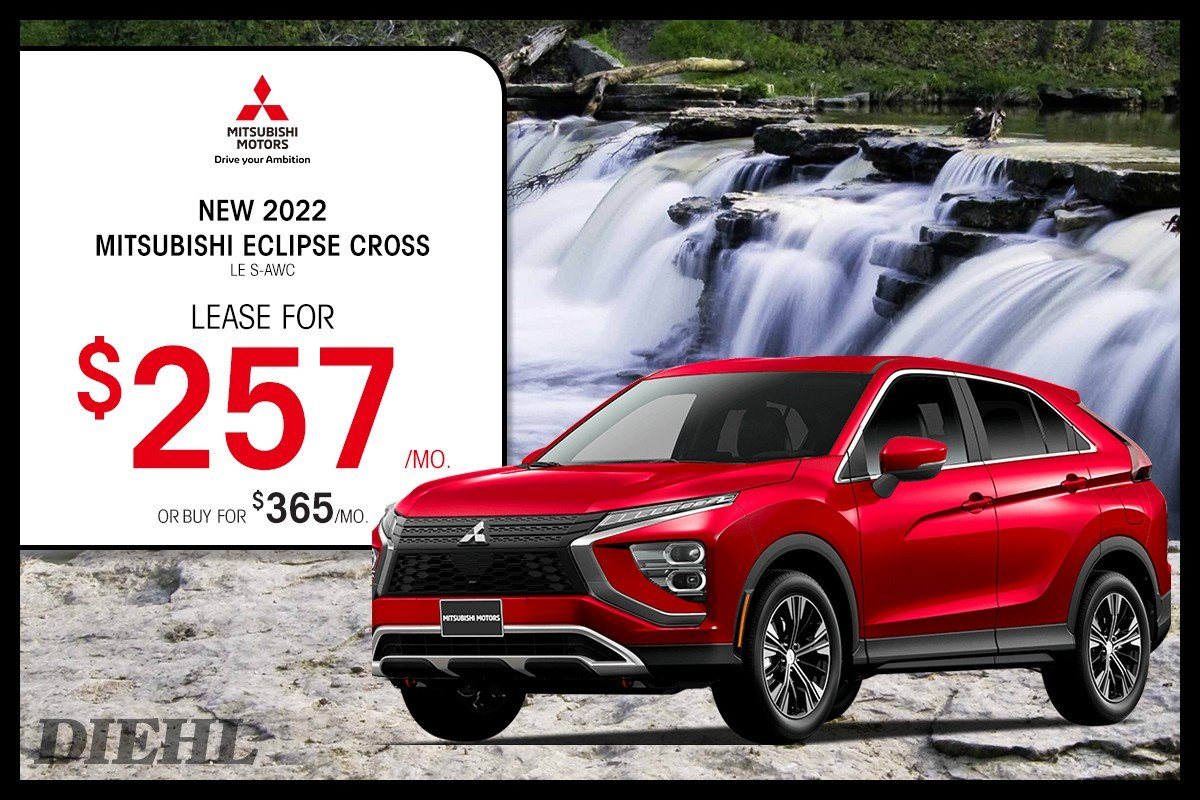 Special offer on 2022 Mitsubishi Eclipse Cross 2022 ECLIPSE CROSS