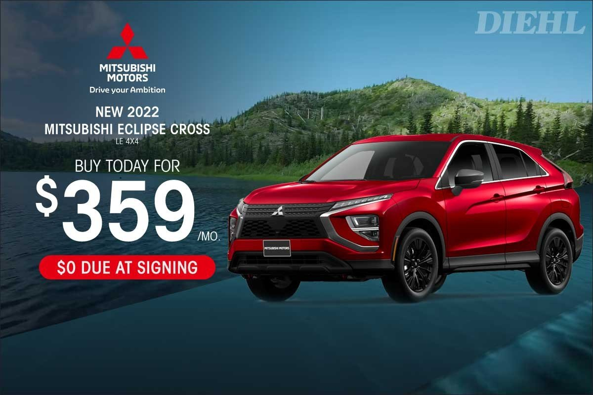 Special offer on 0   2022 ECLIPSE CROSS