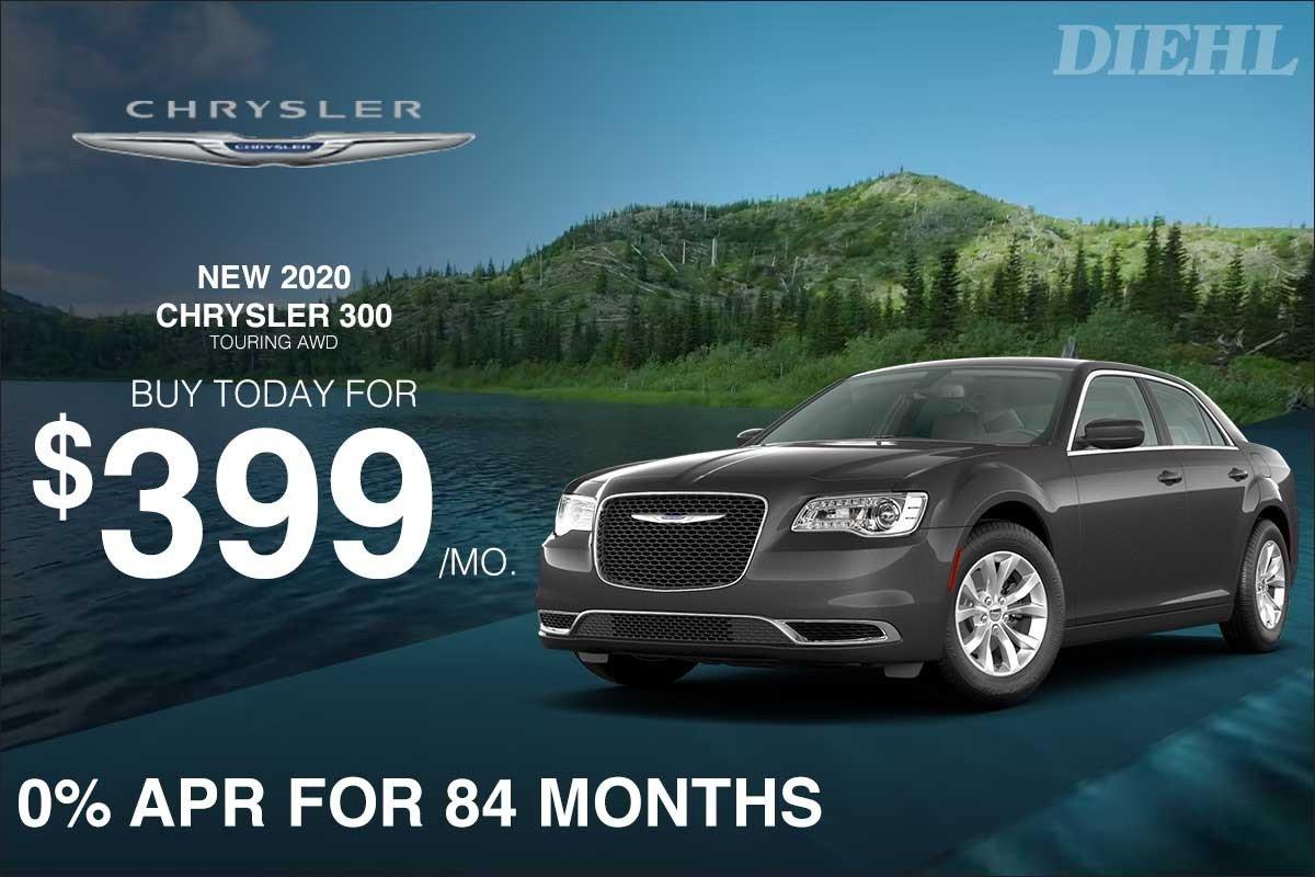 Special offer on 0   2020 CHRYSLER 300