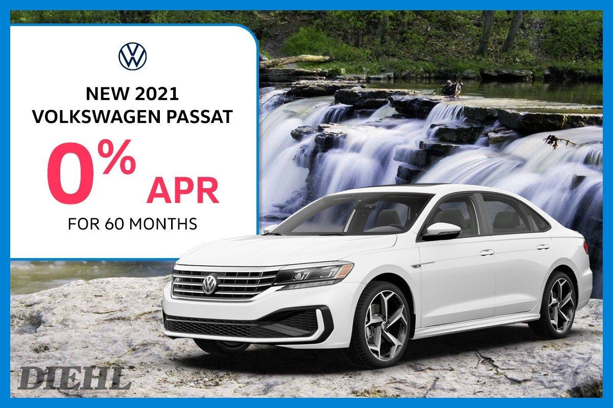Special offer on 2021 Volkswagen Passat 2021 PASSAT