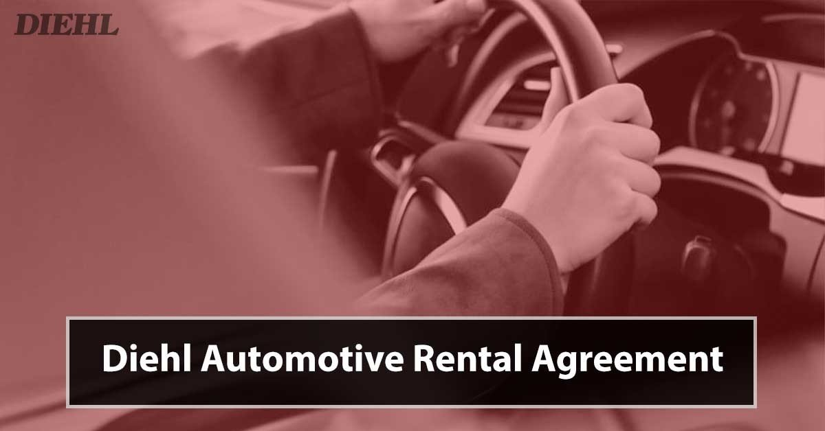 diehl automotive group rental agreement service contract