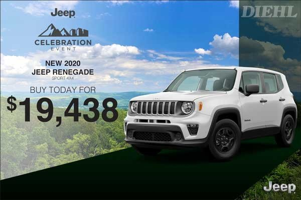 Special offer on 0   2020 RENEGADE
