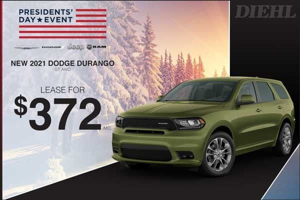 Special offer on 2021 Dodge Durango 2021 DURANGO