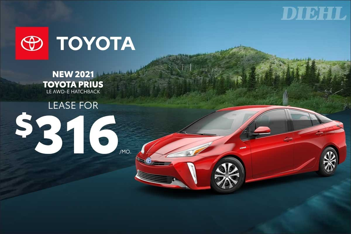 Special offer on 2021 Toyota Prius 2021 PRIUS