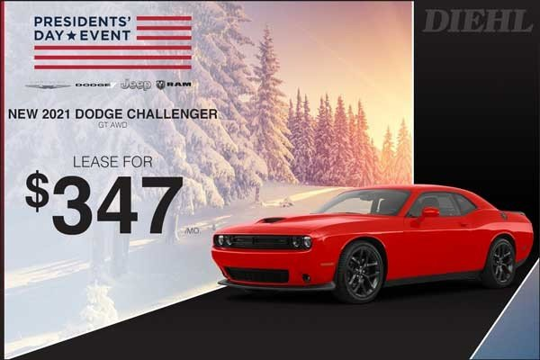 Special offer on 2021 Dodge Challenger 2021 CHALLENGER