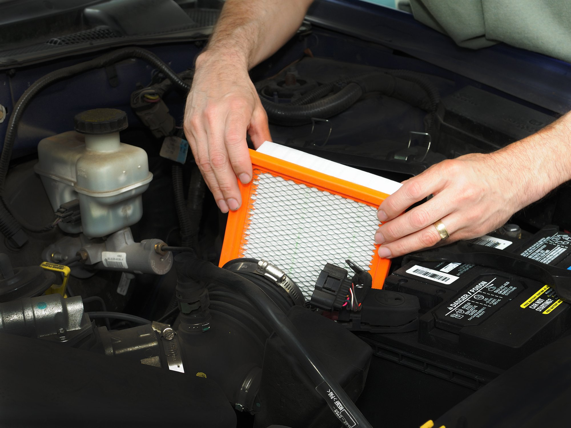 Air Filter Replacement Most Cars