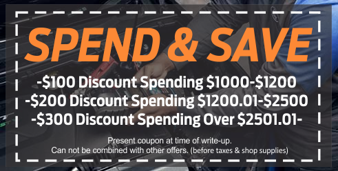 Coupon for Spend & Save Money Saving Coupon!