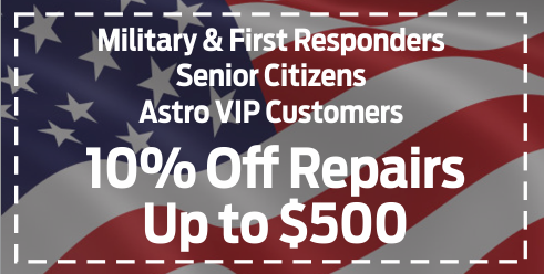 Coupon for 10% Off Military-Seniors-VIP Customers