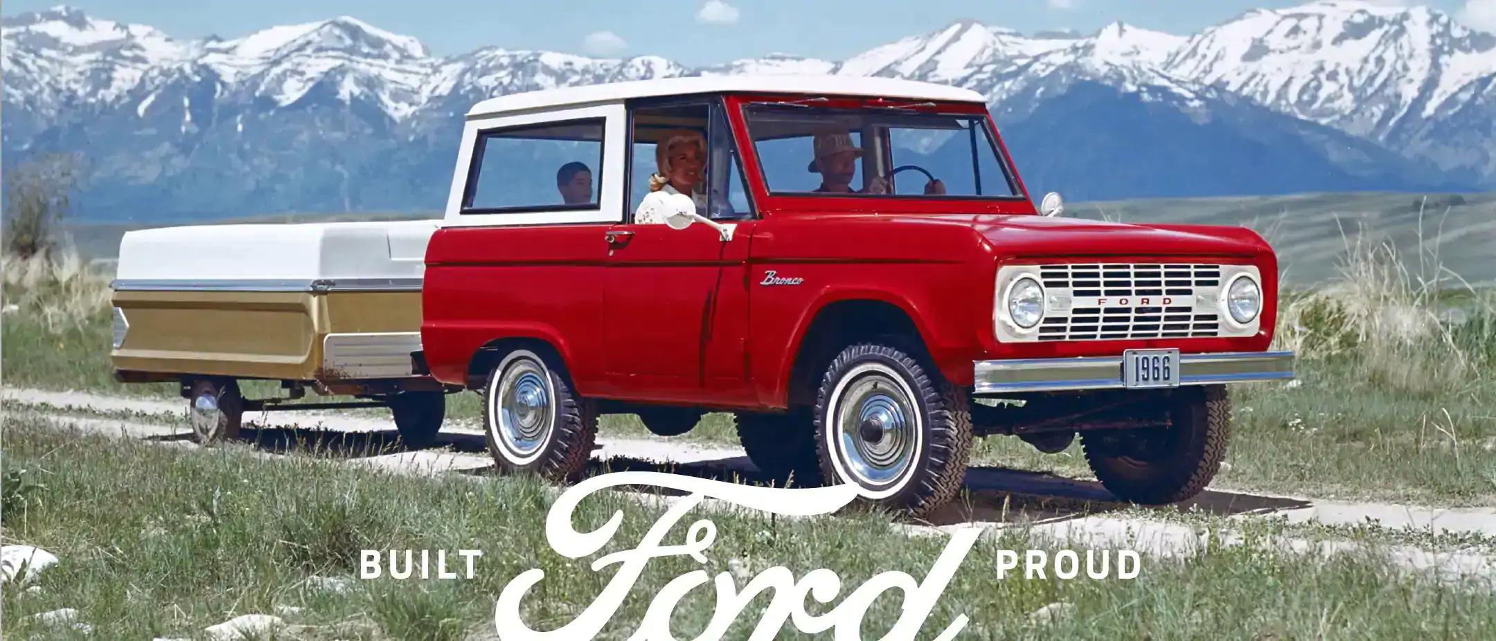 vintage ford bronco