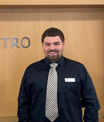 Product Specialist Aaron Morris in Sales Department at Astro Ford