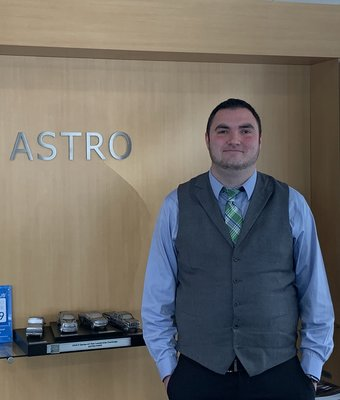Product Specialist Robert Hughey in Sales at Astro Ford