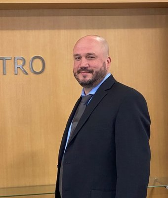 Used Car Manager Daniel Walker in Sales Department at Astro Ford