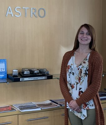Product Specialist Brittany Wheeler in Sales at Astro Ford