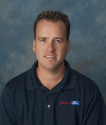 Vice President Damon Culbertson in Sales at Astro Ford