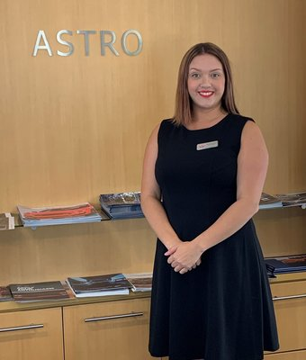 Product Specialist Samantha Neubauer in Sales at Astro Ford