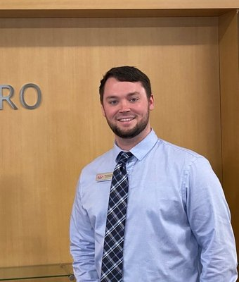 Finance Manager Alex Bassenger in Sales Department at Astro Ford