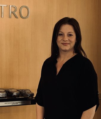 BDC Manager Christel Harris in Sales at Astro Ford