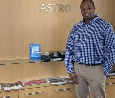 Product Specialist Travis Cooper in Sales at Astro Ford
