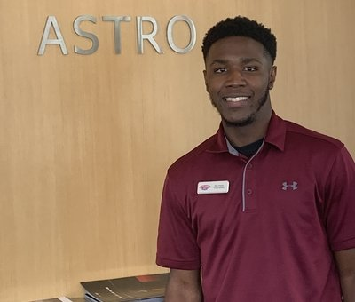 Product Specialist Dre Hardy in Sales Department at Astro Ford