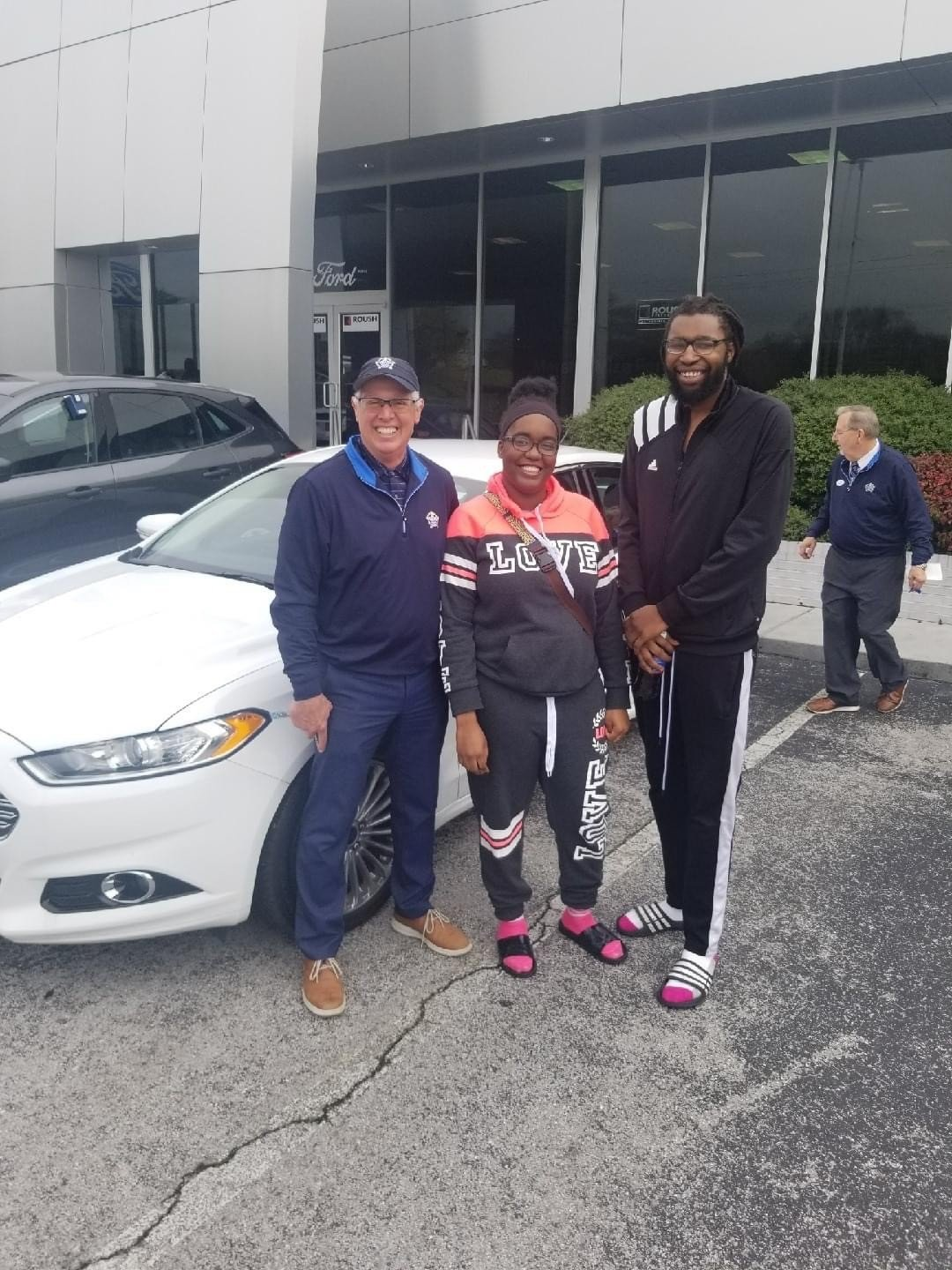 buying a white ford focus at Marshal Mize Ford in Chattanooga