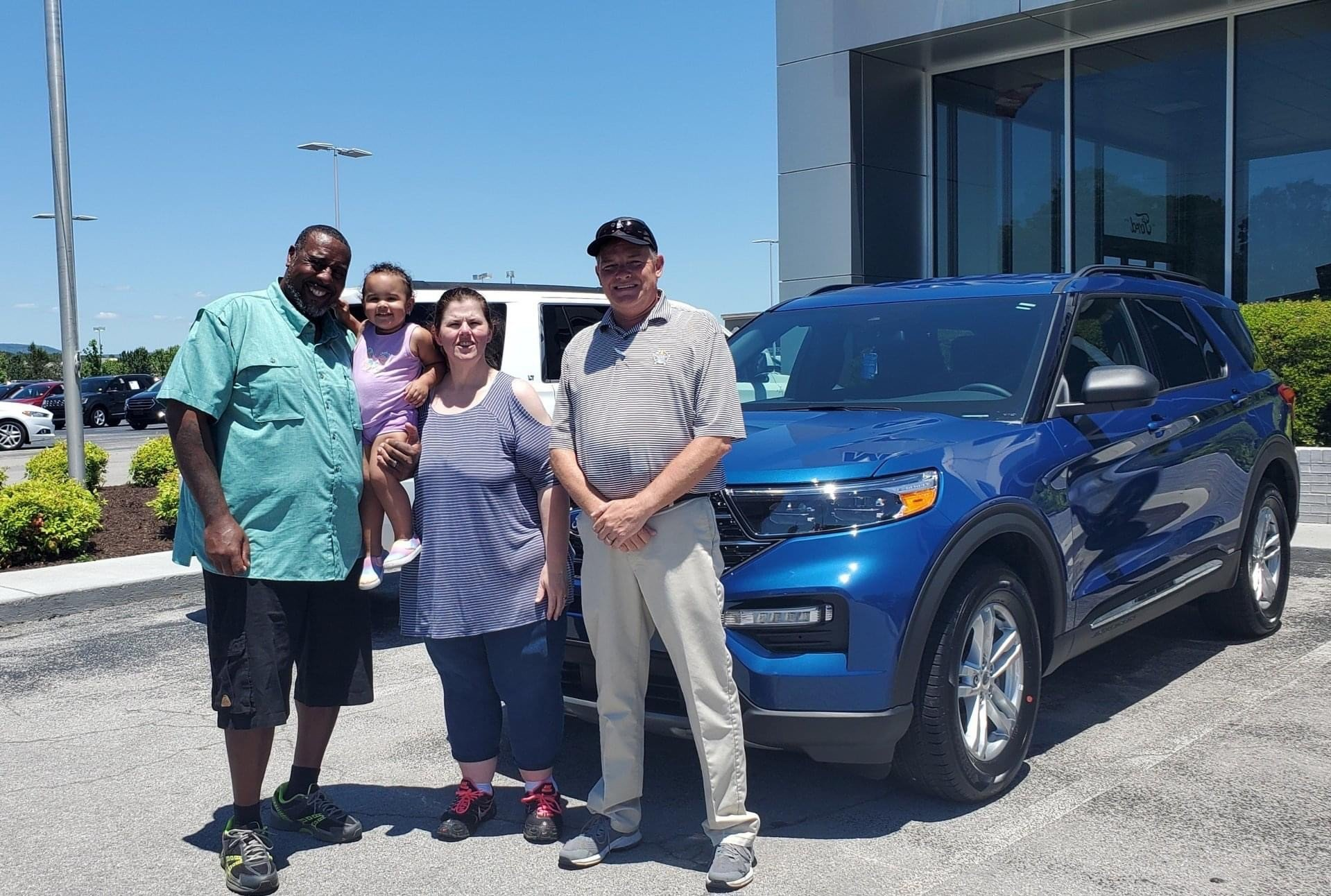 Buying an SUV with Marshal Mize