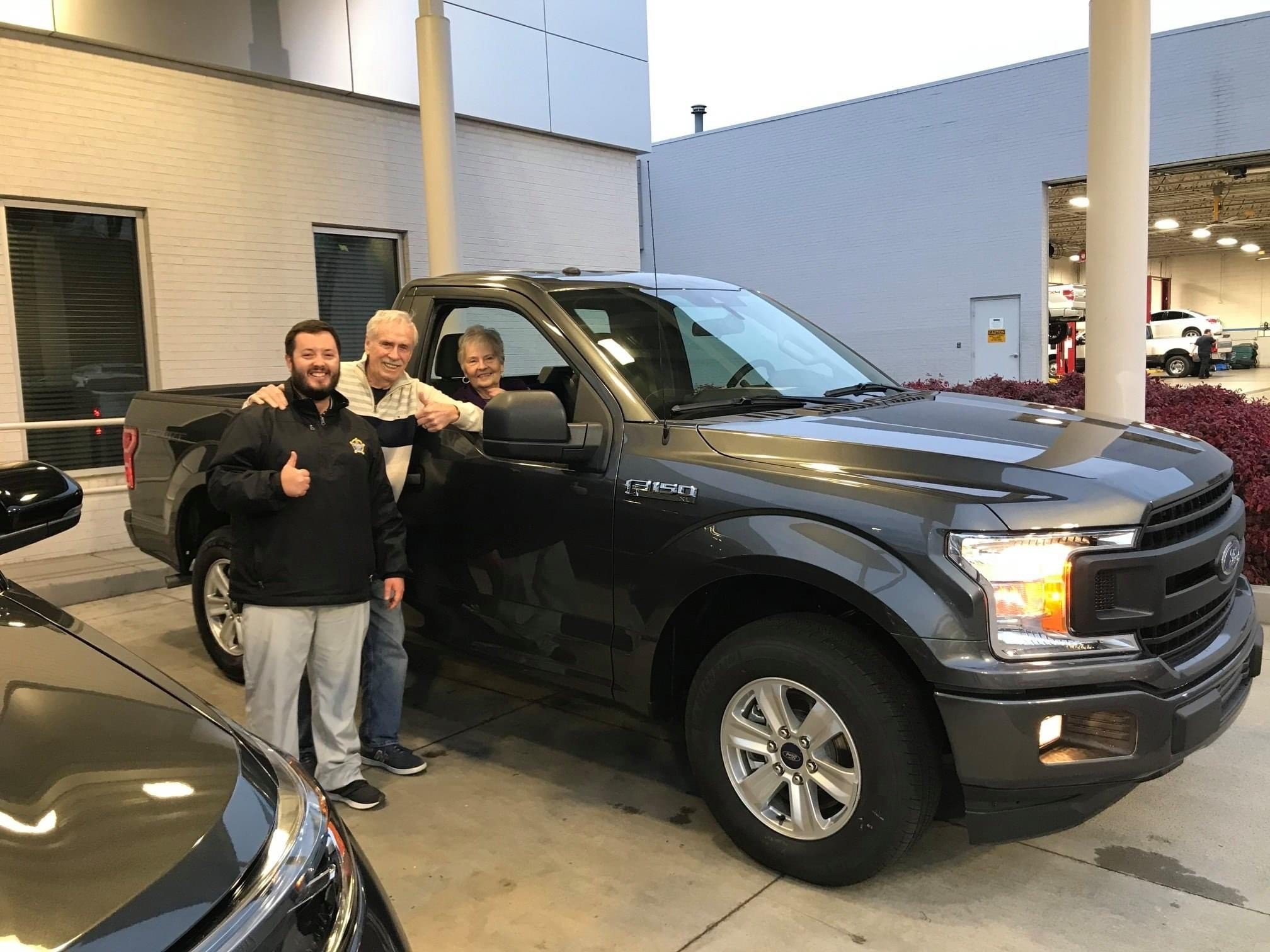 buying an F150 at Marshal Mize in TN