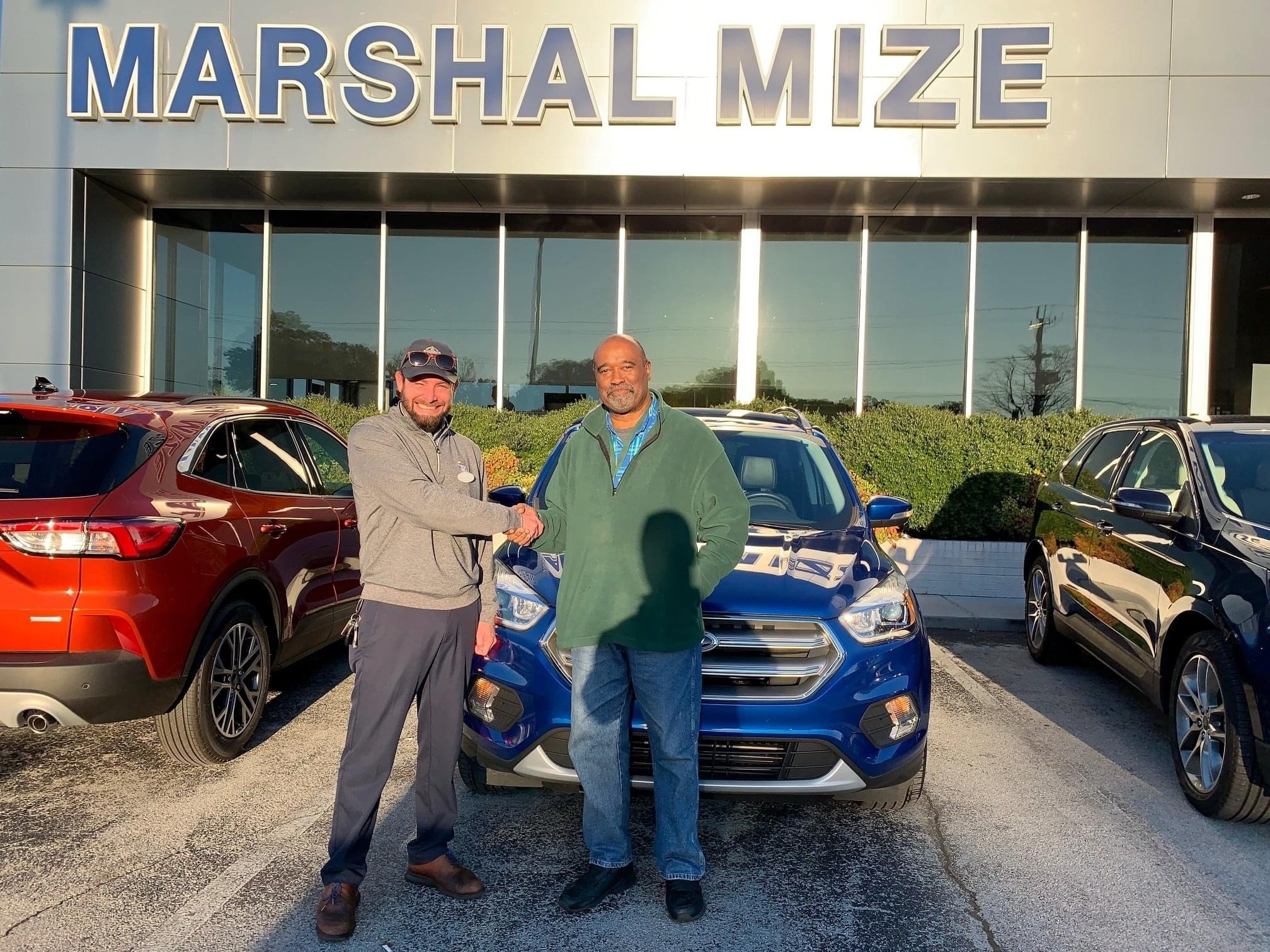buying a ford edge at Marshal Mize