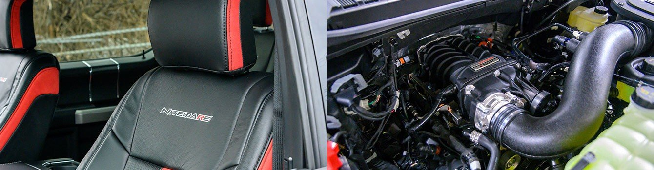 2020 ROUSH Performance F-150 Nitemare Interior