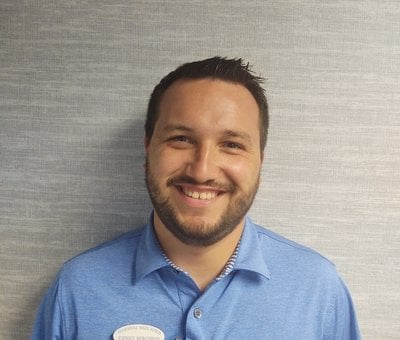 Sales Associate Johnny Bergeron in Sales at Marshal Mize Ford