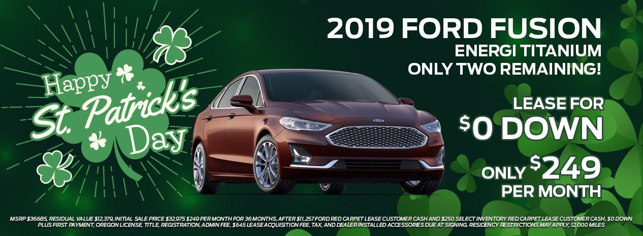 ford fusion offer