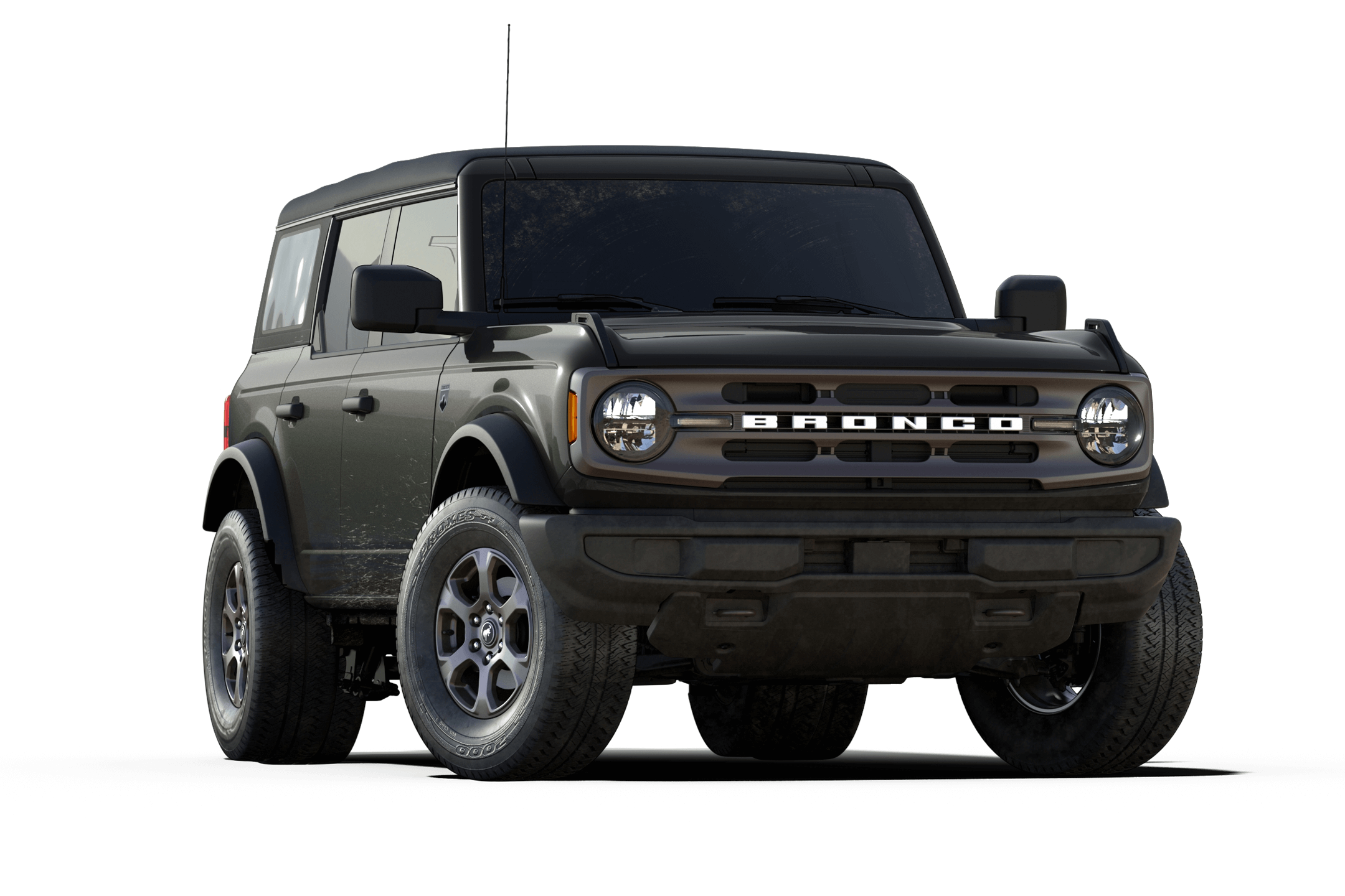 bronco big bend trim