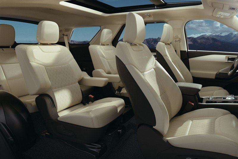 ford explorer platinum interior
