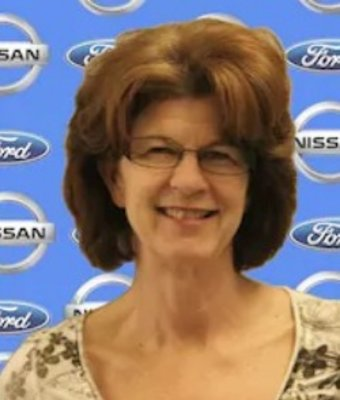 Service Advisor Jerri Collver in Service Department at Chuck Colvin Ford Nissan